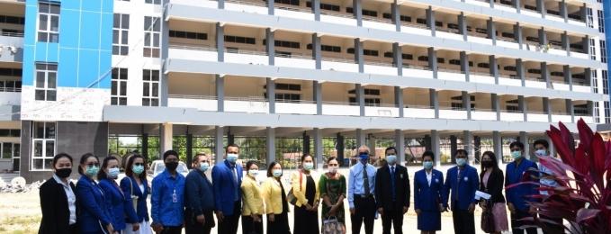 ลงพื้นที่กำกับติดตามนโยบายการจัดการเรียนการสอนในสถานการณ์การแพร่ระบาดของโรคติดเชื้อไวรัสโคโรน่า 2019