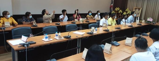 ได้ดำเนินการประเมินความเครียด (ST- 5) และแบบคัดกรองภาวะซึมเศร้าในเด็ก (CDI) นักเรียนขอรับทุนการศึกษาพระราชทาน ม. ท.ศ. รุ่นที่13 ปีการศึกษา2564 จังหวัดตรัง