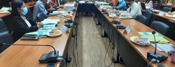 ประชุม คณะกรรมการคัดเลือก คัดสรรนักเรียนเพื่อขอรับทุนการศึกษาพระราชทาน ม. ท. ศ. รุ่นที่ 13 ปีการศึกษา 2564