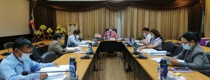 ประชุมคณะกรรมการดำเนินการ คัดเลือกพนักงานเจ้าหน้าที่ ส่งเสริมความประพฤตินักเรียนและนักศึกษา กระทรวงศึกษาธิการ รางวัลเสมาพิทักษ์ ประจำปีงบประมาณ พ. ศ. 2564