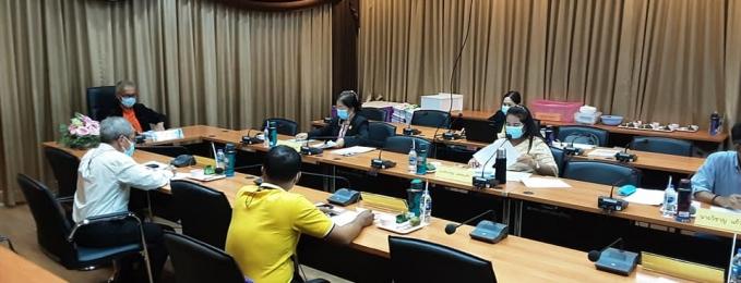 ประชุมคณะกรรมการดำเนินงานการประกวดระเบียบแถวลูกเสือ เนตนารี ระดับจังหวัดประจำปี 2564