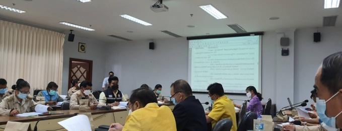 ประชุมคณะอนุกรรมการการขับเคลื่อนแผนแม่บทคุณธรรมระดับจังหวัด ครั้งที่ 2/2564